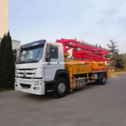 80m3/H Output 33m Pumping Height Concrete Pump Truck for Sale