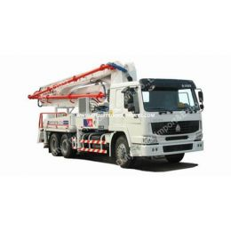 Sinotruk Truck Mounted Concrete Pump Mixer Concrete Pump Truck with 40m 42m 48m Boom