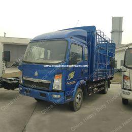 China HOWO Sinotruck 4X2 Stake Light Cargo Truck Fence Truck