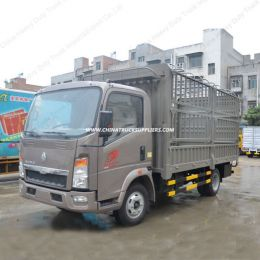 Sino 4X2 Warehouse Gate Stake Cargo Truck/Light Cargo Trucks
