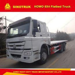 Zz1257m3847 Sinotruk HOWO 6X4 Flatbed Truck