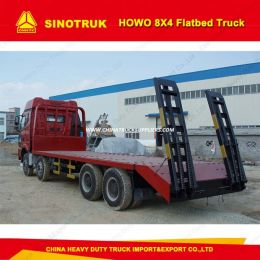 Sinotruk HOWO Low Flatbed Truck 8X4 Equipment Transport Truck
