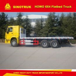 Sinotruk HOWO 6X4 40 Tons Container Carry Flatbed Truck