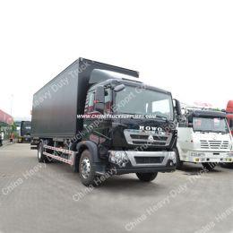 China Sinotruk HOWO 4X2 10ton Light Van Cargo Truck