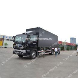 HOWO T5g 4X2 Van Cargo Truck for Sale