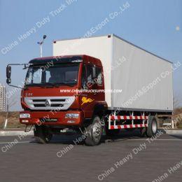 Sinotruk New Huanghe 4X2 Van Cargo Truck