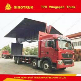 HOWO 8X4 Wingspan Van Truck