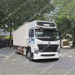 Sinotruk HOWO A7 6X4 Van Cargo Truck for Sale