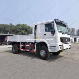 HOWO 2 Axles Light Truck 4*2 Van Cargo Truck