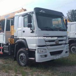 Sinotruk HOWO 25 Tons Truck Mounted Crane of 6 Tons