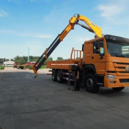 Sino Truck HOWO 6X4 25tons Truck Mounted Crane for Sale