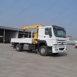 Sinotruk 6X4 10 Wheels 8ton Wrecker Truck with Crane