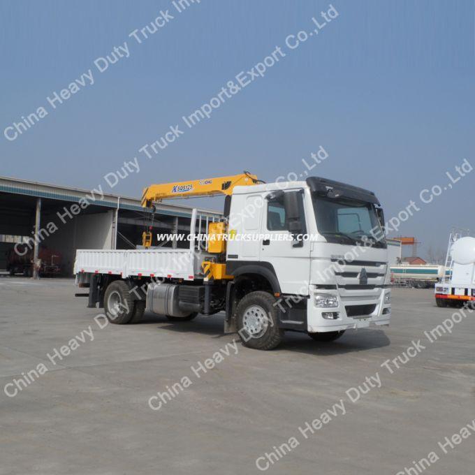 HOWO 4X2 12 Ton Truck Mounted Crane