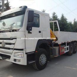 Sinotruk HOWO 6X4 25 Tons Loading Capacity Truck Mounted Crane