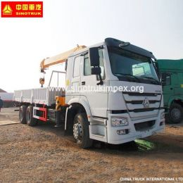 10-20 Tons Heavy Duty Truck Mounted Crane LHD Rhd Truck Crane with Cheap Price