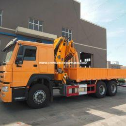 High Quality Folding Arm Type 10 Ton Truck Mounted Crane Model