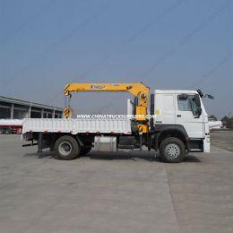 Crane Truck Sino HOWO 4X2 Truck Mounted Crane