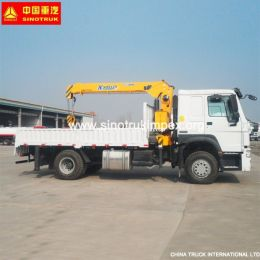 5 Tons Truck-Mounted Crane, 4*2 Small Truck Crane, Mobile Crane with High Quality From China for Hot