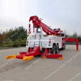 HOWO 8X4 50 Ton Heavy Recovery Road Wrecker Truck