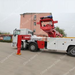 Recovery Road Heavy Duty 50t 8X4 Wrecker Truck
