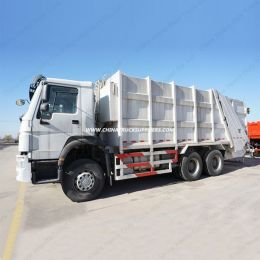 Compressor Garbage Compactor Truck of 15m3 Tank Size