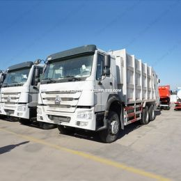 Sinotruk HOWO 6X4 18m3 Rear Loaded Compaction Garbage Truck