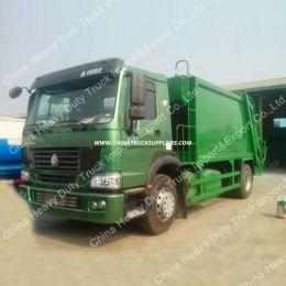 Sinotruk HOWO 4X2 266HP 12cbm Garbage Compactor Truck