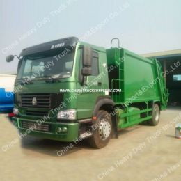 Sinotruk 4X2 10cbm Garbage Truck Compactor Truck/Compressor Ga