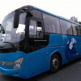 Long Big Coach Luxury Tourist Passenger Bus
