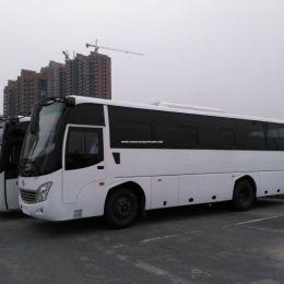 45-55 Seats 12 Meters Long Tourist Passenger Coach Travel Bus