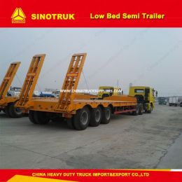 3 Axles Flatbed Cont