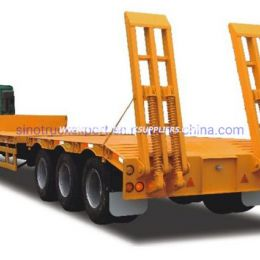 3 Axles Low Bed Semi