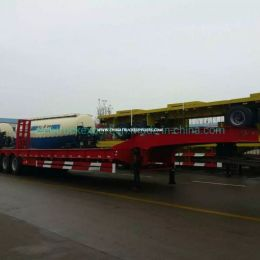 2015 Used 4 Axles Low Bed Semi-Trailer for Sale