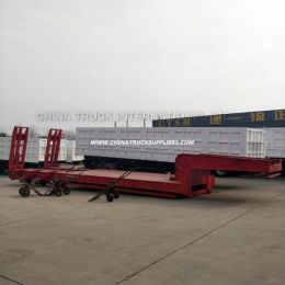 20FT 40FT Flatbed Container or Skeleton Semi Trailer Price