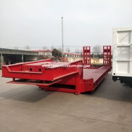 3 Axles High Bed Truck Trailer Skeleton Trailer for Sale