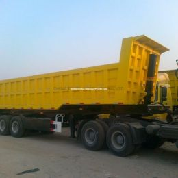 Sinotruk Strong Cargo Box 60 Tons Dump Truck Semi Trailer with High Quality
