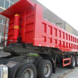 Fuwa Axle Sinotruk 28 Ton Dump Truck Semi Trailer Tipper Truck Semi Trailer