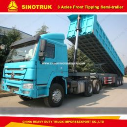 3 Axles Front Dump/Tipper Semi-Trailer for Sale