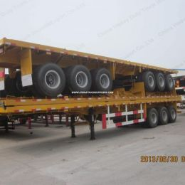 Hot Sell 3 Axles Container Flatbed Semi Trailer/Truck Trailer