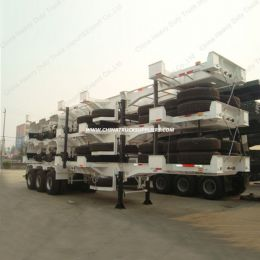 3 Axle Skeleton Container Chassis or Container Semi Trailer