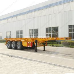3axle Trailer Manufacturer Galvanized Skeleton Trailer for Tiny Hous