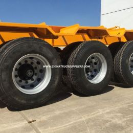 3 Axles 20FT 40FT 40t Container Semi-Trailer Skeleton Tractor Chassis Semi Truck Trailer