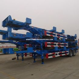 Customized Design 20FT 40FT 2 Axle 3 Axle Container Skeleton Semi Trailer