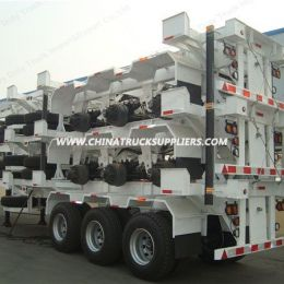 20FT Container Skeleton/Container Truck Semi Trailer