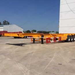 3 Axlesskeleton Container Semi Trailer for Sale