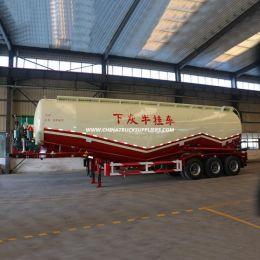 50cbm Bulk Cement Cargo Tanker Trailer Low Density Bulk Cement Powde
