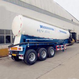 China Manufacture Air Compressor Dry Powder Tanker Semi Bulk Cement