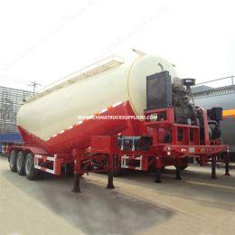 3 Axle 45m3 Bulk Cement Trailer for Uganda