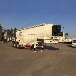 Tri-Axles 40cbm Dry Bulk Cement Tanker Semi Trailer