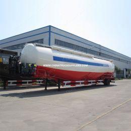 3 Axle 50m3 Bulk Cement Tanker Bulker Tank Semi Trailer with Bohai A